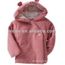 invierno 100% poliéster acolchado chaquetas para niños