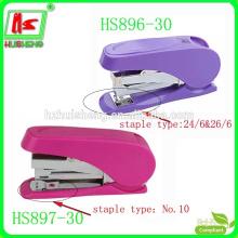 Salvar agrafadoras de poder série, grampeador rotativo, grampeador de balanço vermelho
