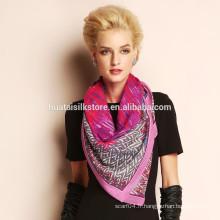 Fashion 100% écharpe en laine hiver designer en gros Chine