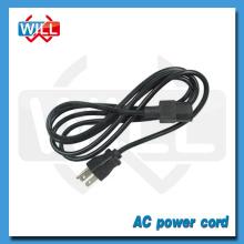 Muestra gratis Canadá estándar de 2 pines IEC 60320 C7 cable de alimentación con UL