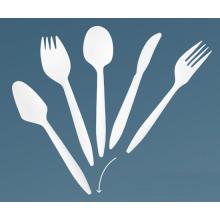 Cuchillo de plástico cuchillo tenedor cuchara