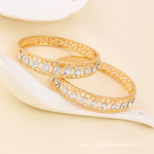 Xuping Fashion Jewelry Zircon Multicolor Bangle