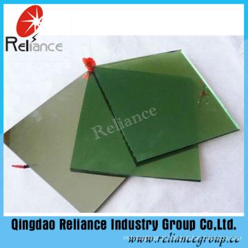 Vidro matizado verde escuro de 4-8mm com o certificado de ISO9001 & de Ce