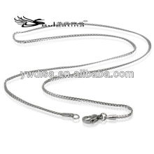 Cadena de acero inoxidable cadena de cadena al por mayor piezas de la cadena de la joyería para los hombres