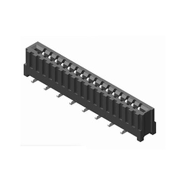 1.0mm FPC NON ZIF Vertical SMT Dual Contact