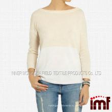 Шерсть теплая толстая высокого класса дамы моды корейский свитер