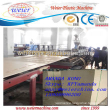 CE reliable professional compounding wood-plastic board machine