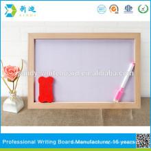 Kinder kleine magnetische Whiteboard mit Holzrahmen