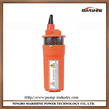 Micro DC solar submersible deep well electric water pump