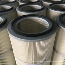Cartucho de Filtro de Polvo Cilíndrico Efficiency de Alta Filtración FORST