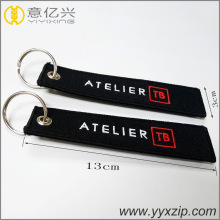 Hot Sell Embroidery Promotion Double Keyring Chaveiro