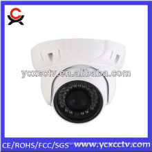 Nuevo producto para 2014: 1.3 megapíxeles HD infrarrojos visión nocturna cúpula cámara de seguridad CCTV, cámara web IP
