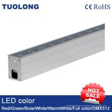 Al aire libre impermeable IP67 LED Linear Inground Luz LED Underground Luz delgada LED Luz