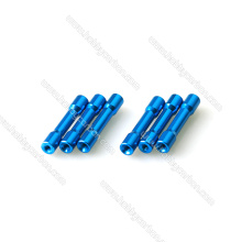 Manufacturer good Price for Colored M3 Colored Step Aluminum Spacer, M3 Standoff