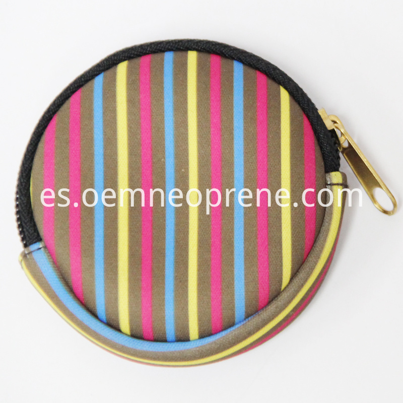 Alt Round Shaped Coin Purse