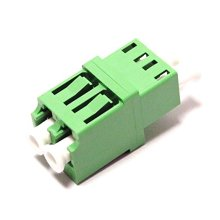 Simplex And Duplex Plastic LC APC Fiber Optic Couplers