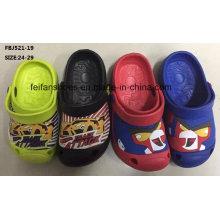 Top qualité EVA jardin chaussures pantoufles de mode pour les enfants (fbj521-19)