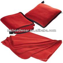 Reißverschluss-Tasche Wasserdichte Fleece-Reise-Decke