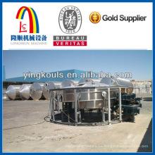 Máquina formadora de rollo de silo en espiral para almacenamiento de granos