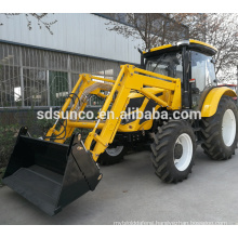 CE approved 65 hp QLN654 tractor with front end loader