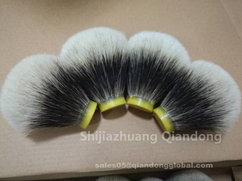 Bulb Shaped Finest Badger Shaving Brush Head