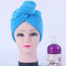toalha de alta qualidade do cabelo do microfiber, turbantes de toalha de secagem do cabelo, faixa do cabelo de toalha