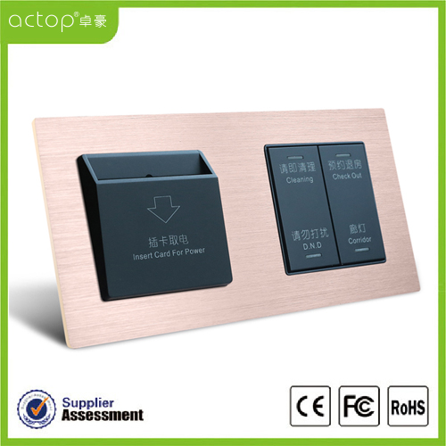 Panels Connected Option Touch Switch