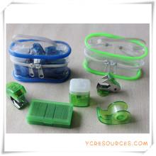 Ensemble de papeterie PVC Box pour cadeau promotionnel (OI18016)