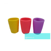 Plastic colorful Mug mold for household