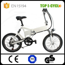 High quality double suspension 20'' portable electric folding bike for sale