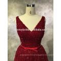 Estilo mais antigo de alta qualidade frente curto longo vestido de noite de 2016