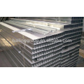 Canal C galvanizado de metal para systerm de pared