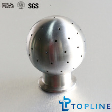 Stainless Steel Sanitary Spray Cleaning Ball with Clamp Ends
