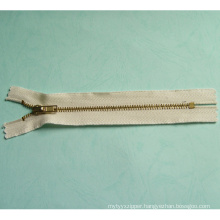 Custom Auto Lock Metal Zipper Open or Closed End (SB-M111601)