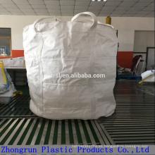 Bolsa grande circular de tamaño jumbo con capacidad de carga de 1 tonelada para polvo de sílice, bolsas de la industria