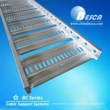 Galvabond aço australiano e Nova Zelândia tipo BC4 bandeja de escada bandeja de cabo