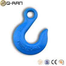 Crochet de levage à oeil acier Slip avec loquets de sécurité galvanisée crochet