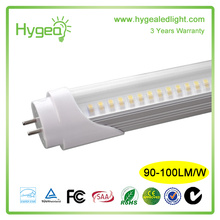 T5 Single 1163MM LED tube 110LM / W couvercle transparent dimmable18W t5 tube lumière