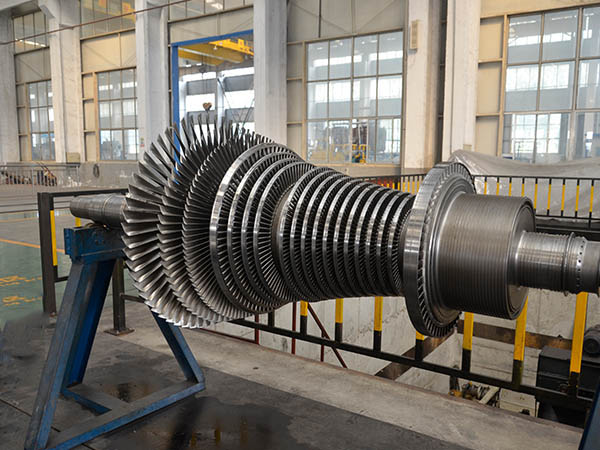 in impulse turbine steam expands