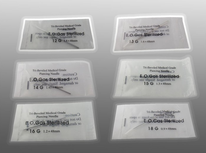 Sterilized Tattoo Body Piercing Needles