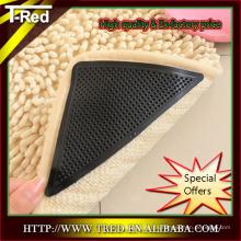 Respetuoso del medio ambiente Suave PU Gel alfombra antideslizante Alfombra alfombra Agarrador Alfombra mayoristas