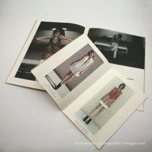 Folheto de acabamento de superfície de laminação de filme e impressão de catálogo