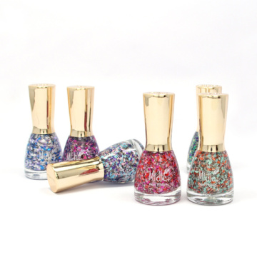 Top Coat Diamond Glitter Nail Polish