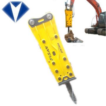 martillo de corea, excavadora martillo neumático, máquina de demolición