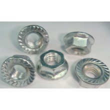 DIN6923 carbon steel hexagon flange nuts
