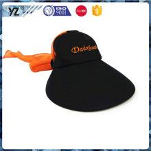 Factory Popular special design visor cap transparent Fastest delivery