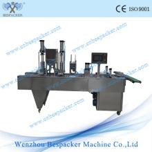 Máquina automática del sellado del calor de la taza del helado