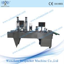 Machine automatique de scellage thermique de la tasse en plastique Ice Cream