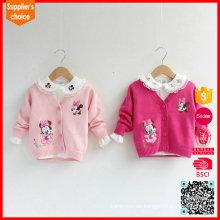 Heißer Verkauf knit Knopfbabykleidung 0-24 Monat