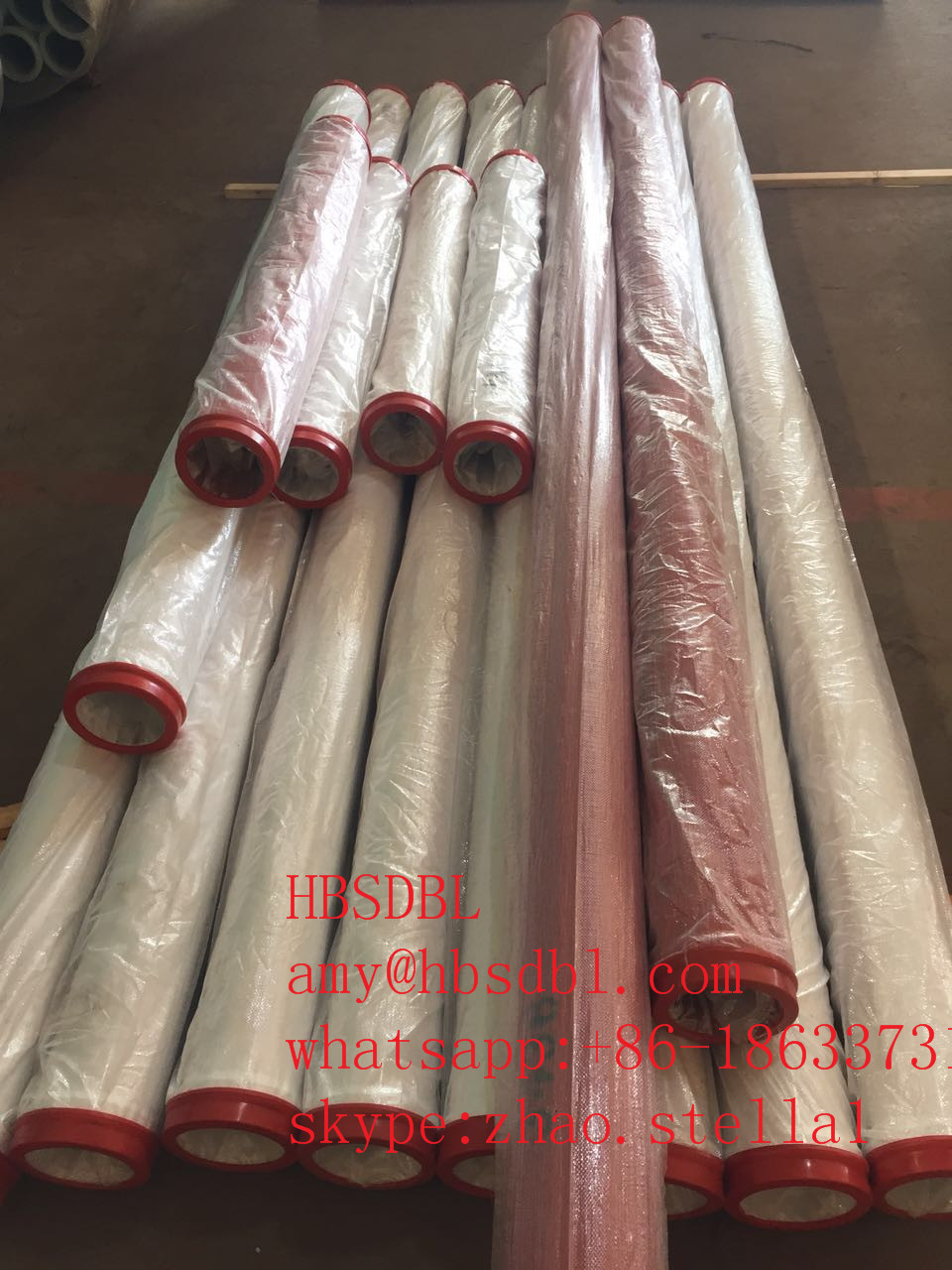 Concrete Pump Double Wall Pipe